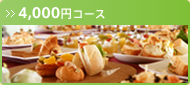 ケータリング4,000円コース